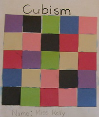 Cubism (Photo from United Montessori Association)