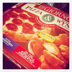 Mmmm... It's not delivery. #digiorno #pizza #lunch #notpaid