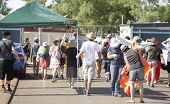 protesting at leonora detention centre friday 24