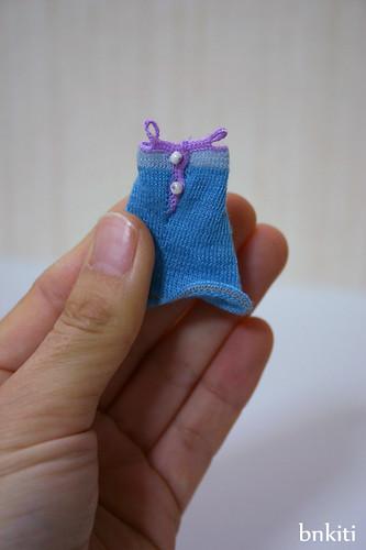 mini knit dress, back style
