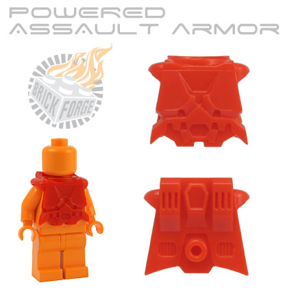Powered Assault Armor - Red