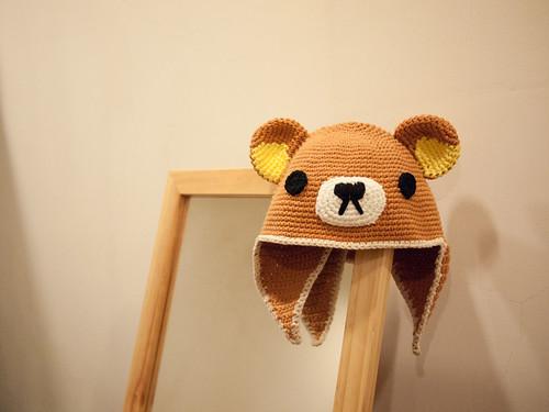 懶熊遮耳帽~Rilakkuma Hat