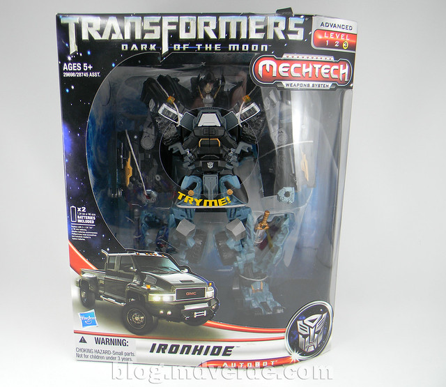 Transformers Ironhide Leader - Dark of the Moon - caja