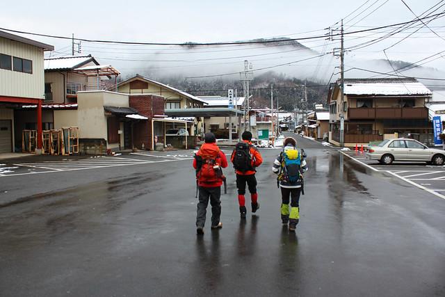高川山登山開始