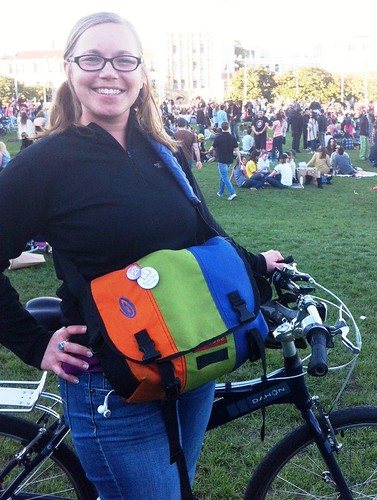Dolores Park bag spotted