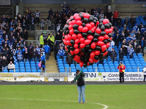 IrnBru Irish League Cup Balloons