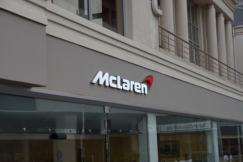 McLaren dealer in Johannesburg, SA