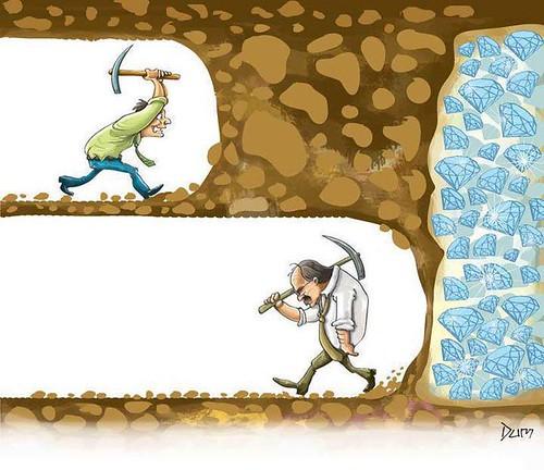لا تستسلم فربما كانت لحظة اليأس هي فعلاً لحظة الوصول by AmrHassaan