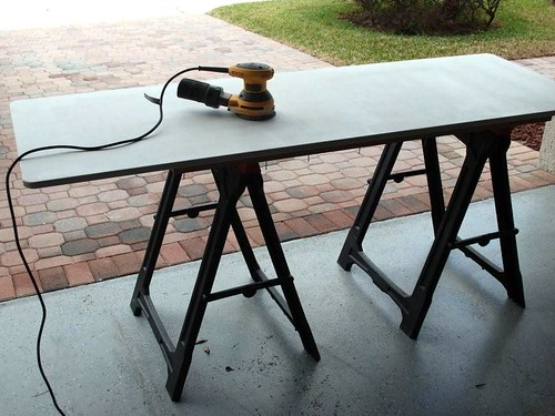 DIY Multi Monitor Desk