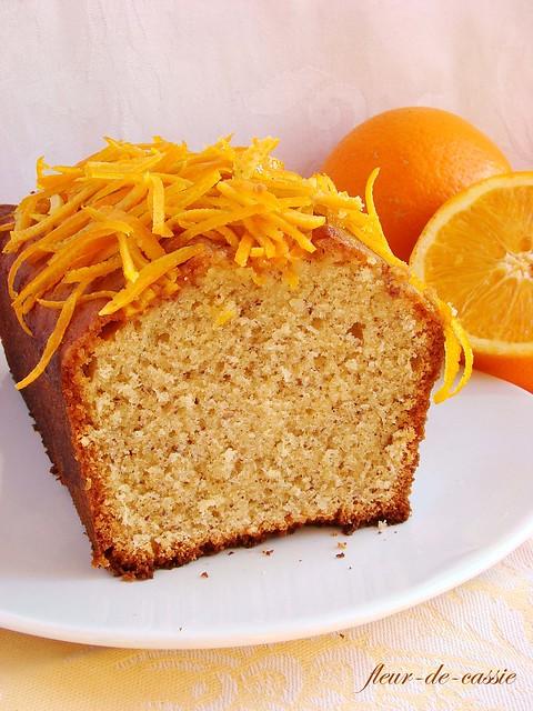 апельсиново-миндальный кекс 1
