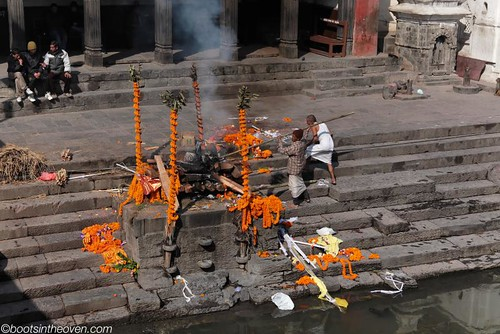 At the Burning Ghat