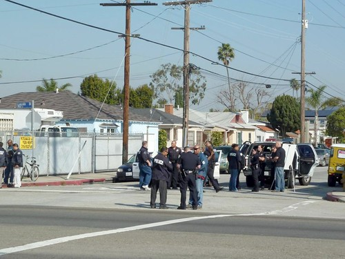 Shooting in Venice Beach 2-1-12