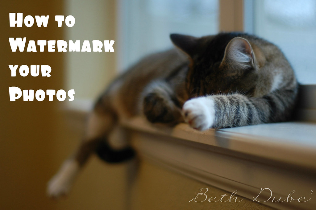 how to Watermark
