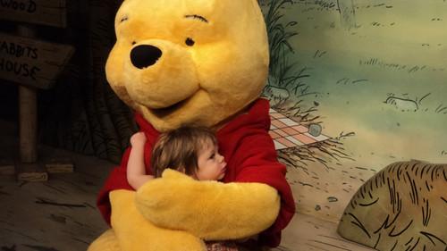 Hugging Pooh