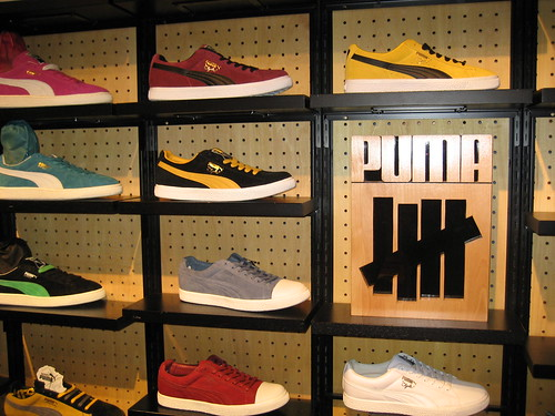 UNDEFEATED PUMA X SHELFLIFE