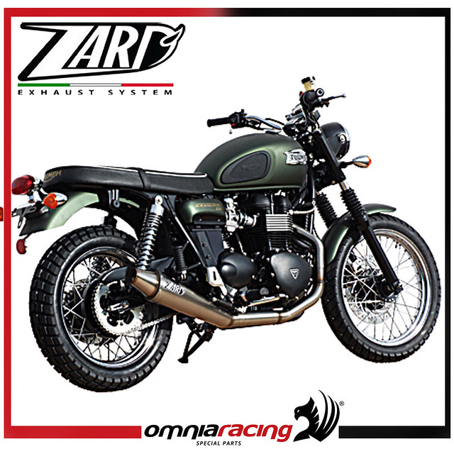 zard low street legal triumph thruxton injection full. Black Bedroom Furniture Sets. Home Design Ideas