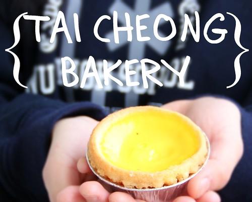 egg tart @ tai cheong