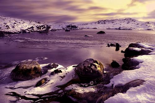 無料写真素材, 自然風景, 河川・湖, 雪, 風景  イギリス