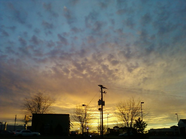 Groundhog Day Sunset