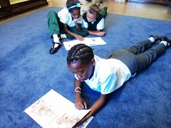 GCU Academy - Reading and homework :: The Backpack Cape Town posted a photo: 	   The GCU Academy offers after school tutoring to its members to assist with homework and reading.  The tutoring takes place in the library at Woodlands Primary school in Heideveld.   Pictures taken Feb 2012