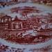 La Cartuja de Sevilla 202 Rosa plate