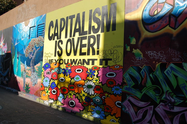 Capitalism is Over - Clarion Alley Mural
