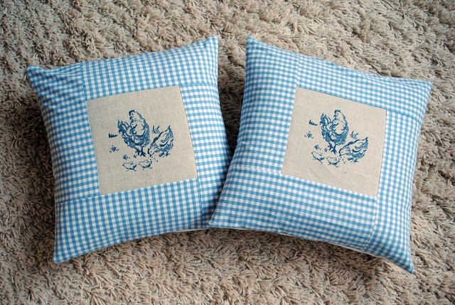 36. Finished Cushion Covers