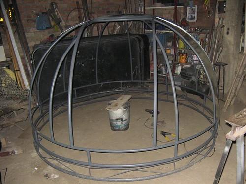 cupula en construccion