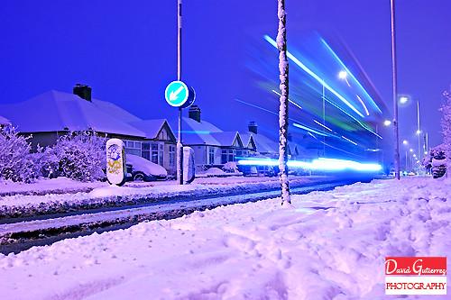 Snow London at Dawn by david gutierrez [ www.davidgutierrez.co.uk ]