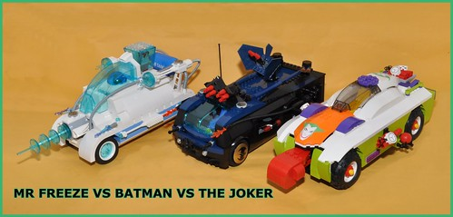 Mr Freeze vs Batman vs The Joker