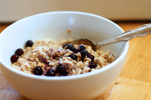 Coconut Blueberry Oatmeal 1