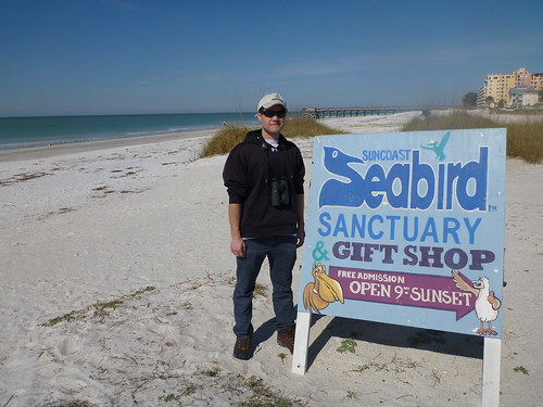 Me at Suncoast Seabird Sanctuary