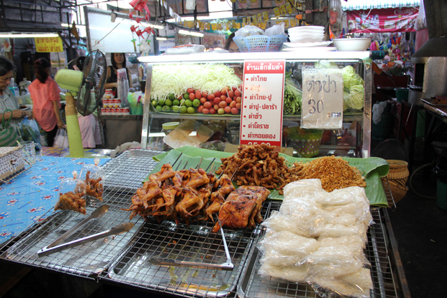 Restaurants at Samrong Market