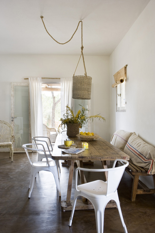 more interior eye candy from formentera | THE STYLE FILES