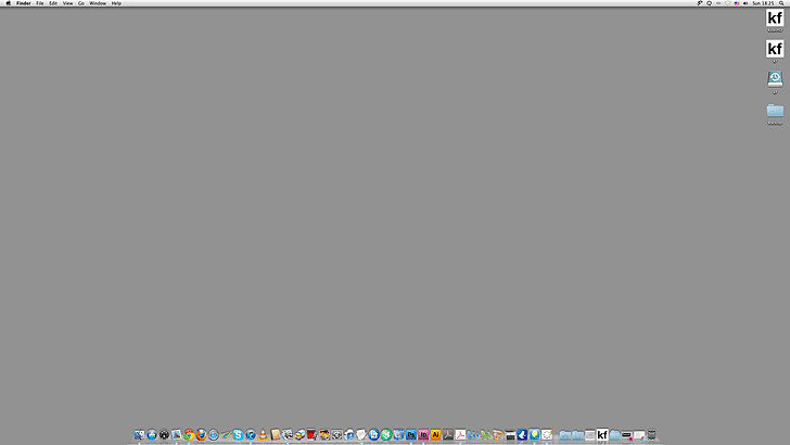 צילומסך של המחשב של קובי