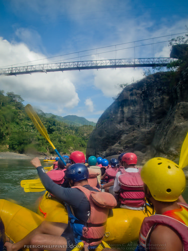 White Water River Rafting - Tabuk - Kalinga, Philippines (110049 - 120123)