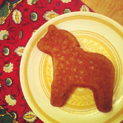 dala horse muffin