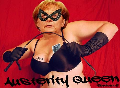 AUSTERITY QUEEN