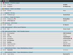 Betway Soccer Live Betting