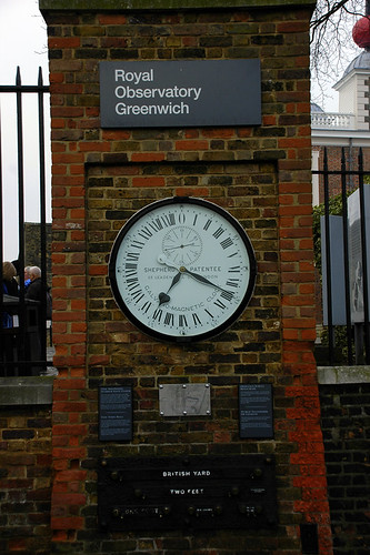 Royal Observatory measurments Greenwich England