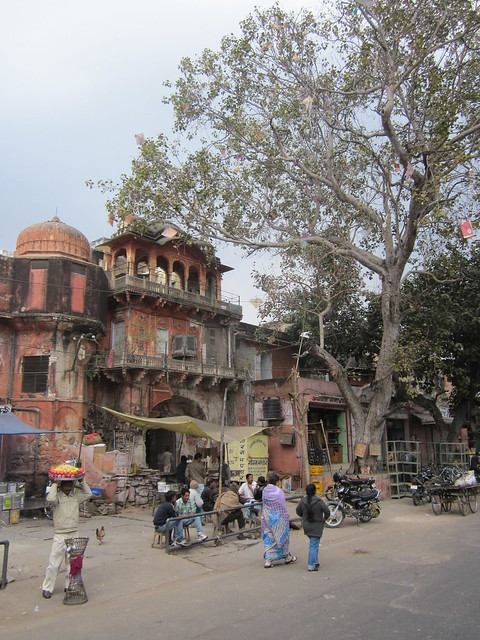the decaying Pink City, Jaipur