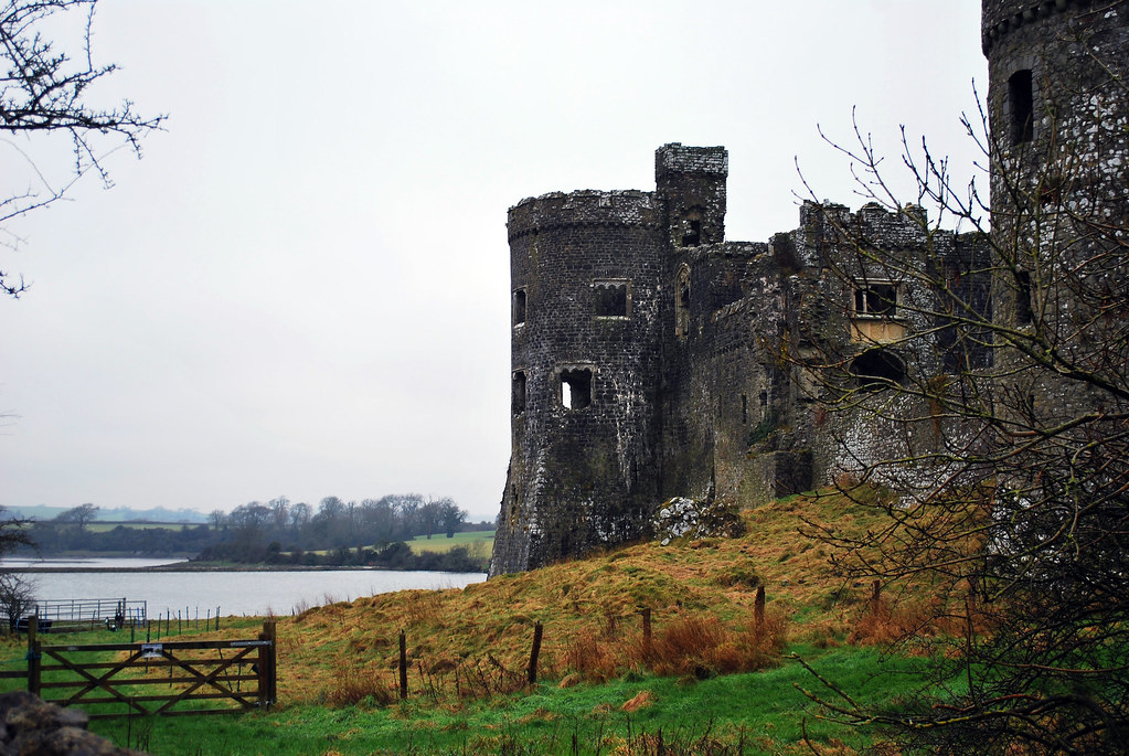 Carew Castle, Carew, Pembokeshire, Wales, UK