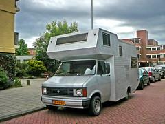 Bedford 97170 TM kampeerauto (camping car), 1978, Amsterdam, Eastonstraat, 06-2011