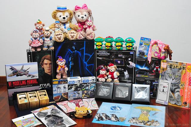 Apr 2014 Tokyo loot!