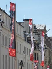 International Dance Festival 2016 Birmingham - banners on Colmore Row