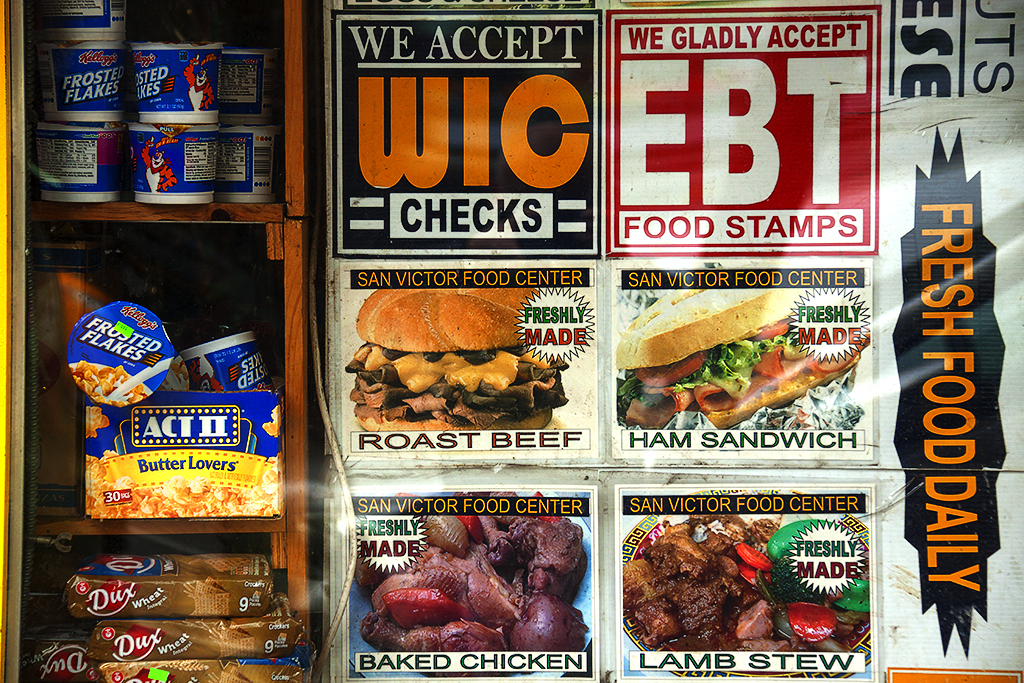 WE ACCEPT WIC CHECKS at San Victor Food Center--Harlem