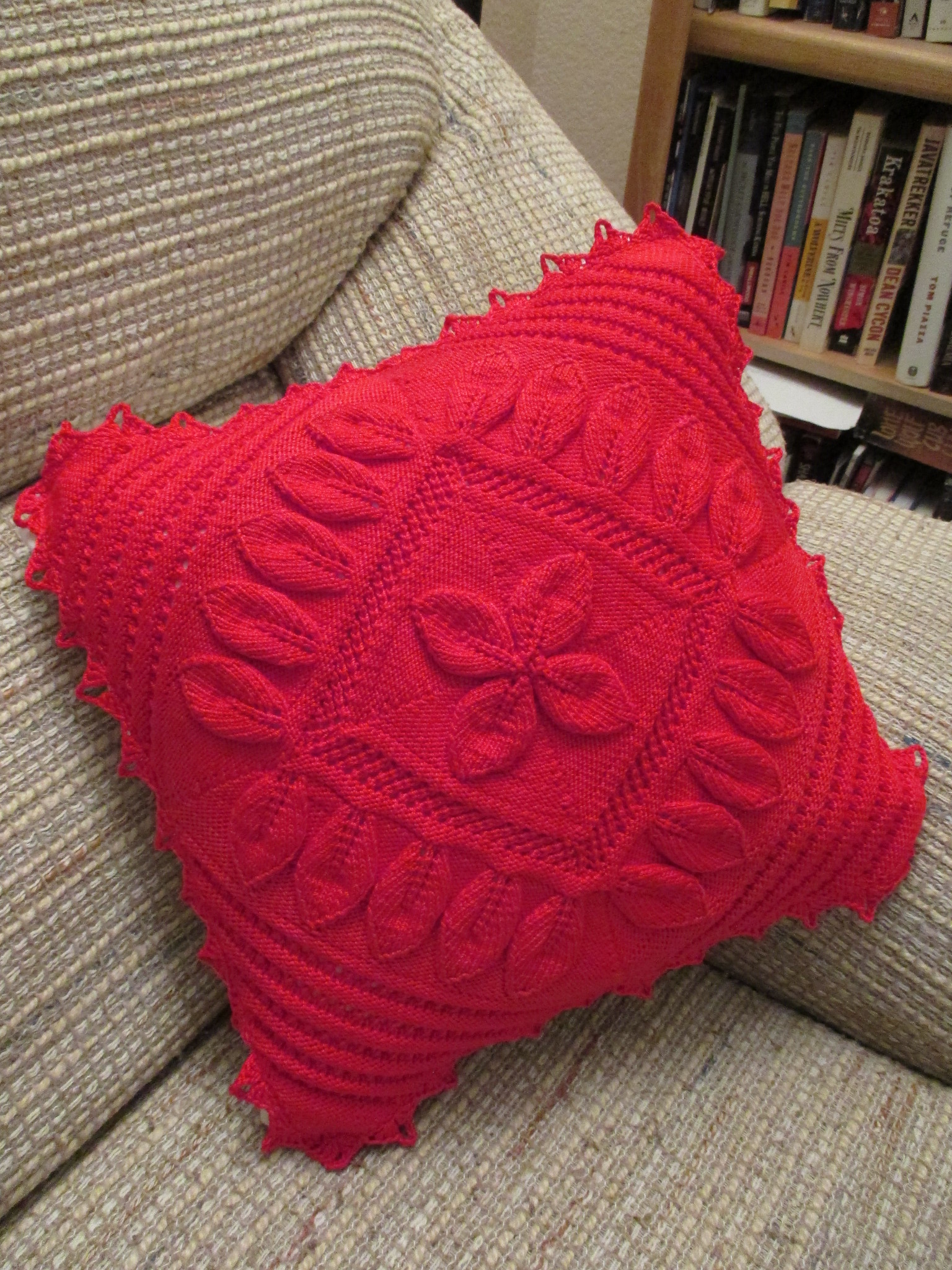 Antique Petals Counterpane Pillow