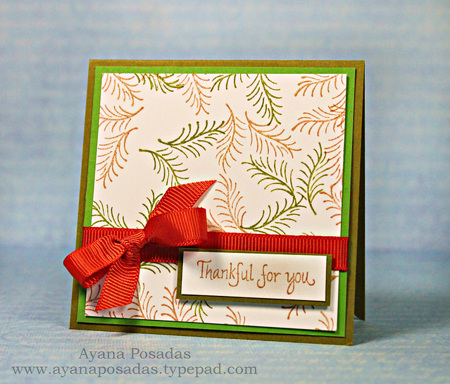 Thankful for You- Pine Sprig