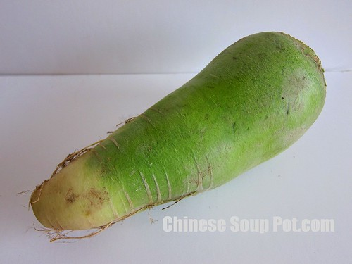 [photo-chinese green radish green carrot]