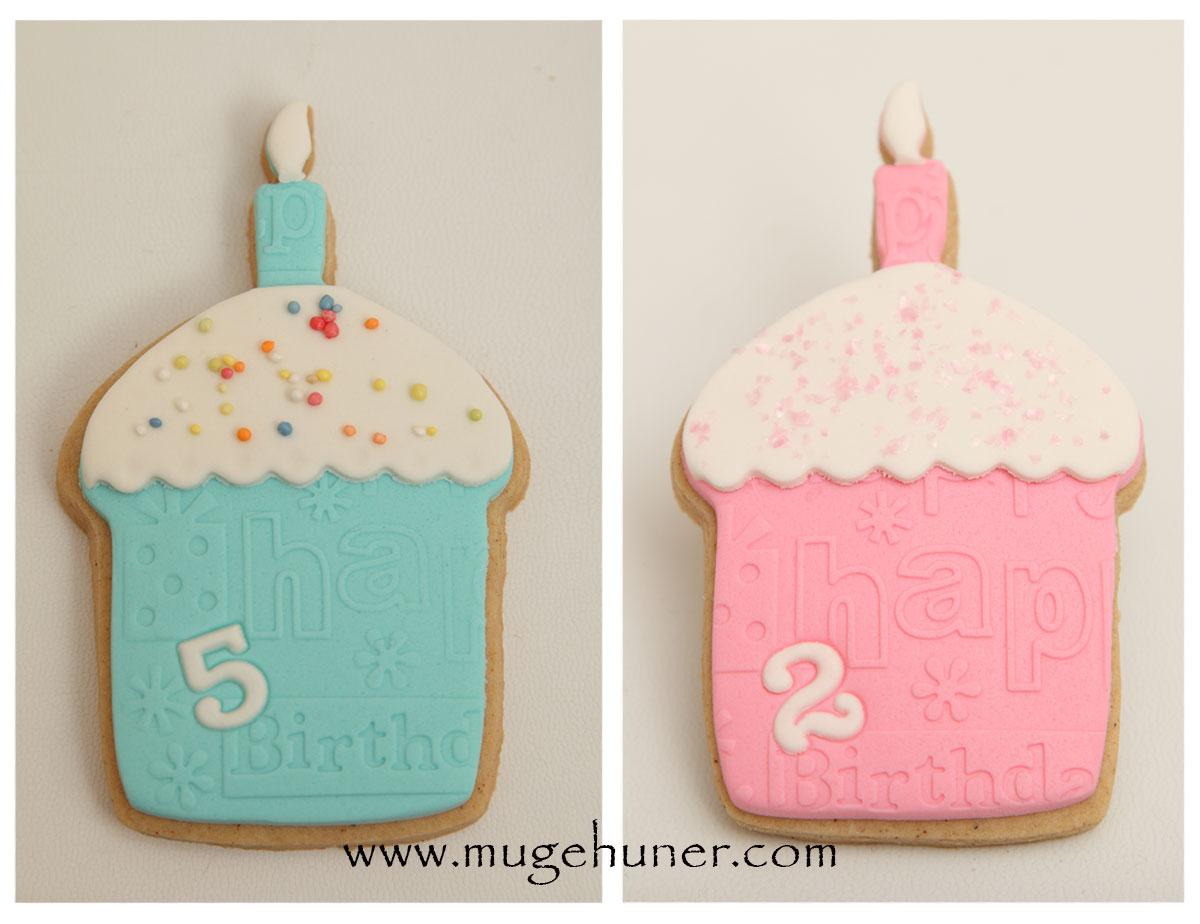 Cupcake Kurabiyeler